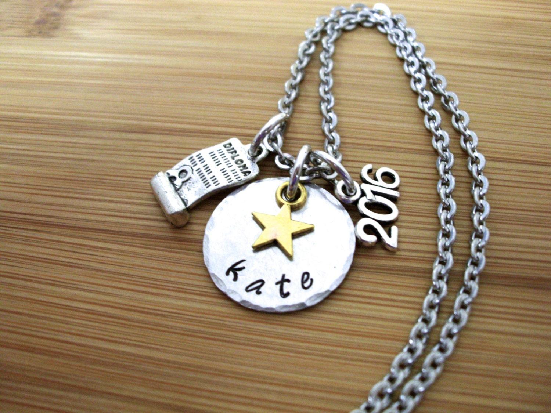 graduation jewelry personalized graduation necklace 2017