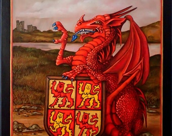 The Queen's Beasts The Red Dragon of Wales