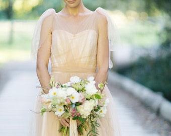 Rose Gold Wedding Hair Vine, Rose Gold Hair Piece, Crystal Bridal Headpiece, Bridal Headpiece, Rose Gold Hair Vine - FLORA