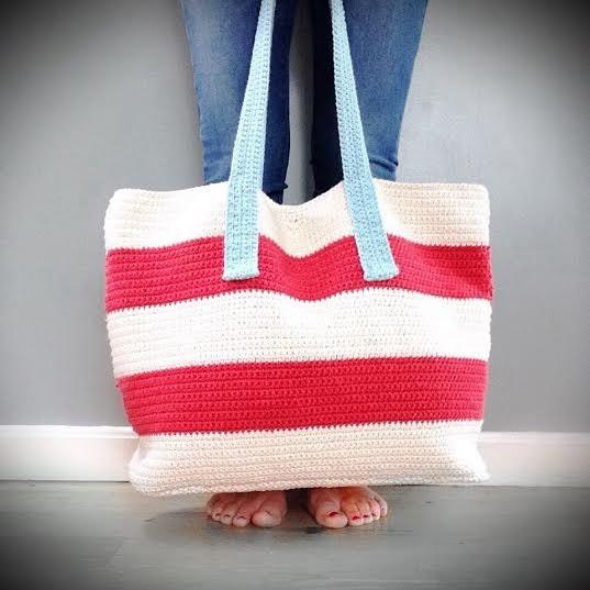 Crochet Bag Pattern The Chelsea Cotton Tote Crochet Pattern