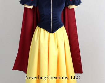 Snow White Classic Costume Custom Made