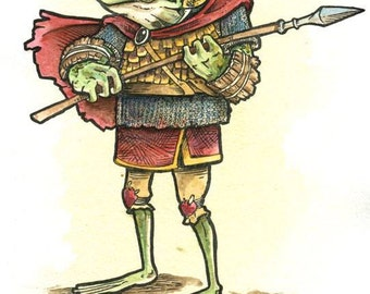 Animal Adventurer Frog Guardsman