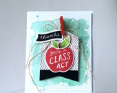 You're a Class Act - Handmade Card