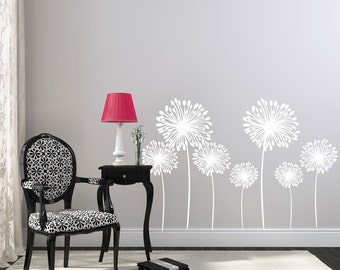 Wall Decals   Dandelion Wall Decal   Flower Wall Decals   Wall Decals For  Kids   Part 96