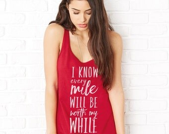 every mile tank top