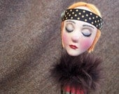 Painted Lady Candlestick Doll: Trish
