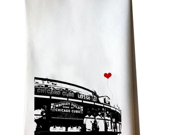 Wrigley Field Chicago Cubs tea towel