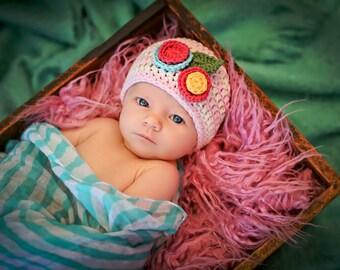 Newborn Baby Girl Photo Prop Hat
