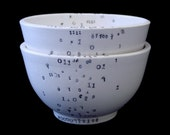 Two Binary Porcelain Bowls