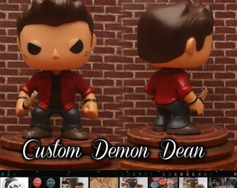 Supernatural Demon Dean Winchester - Custom Funko pop toy
