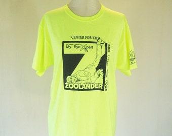 Zoolander Eyeglasses Parody Shirt Top Novelty