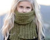 Knitting PATTERN-The Morya Scarf/Cowl Set (Toddler, Child, Adult sizes)