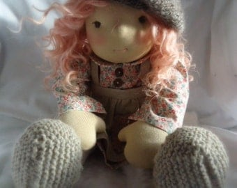 """Waldorf Inspired Doll - 20"""" - Beatrice"""