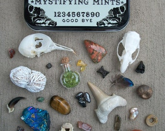 Mystifying Mints Ouija Board Tin Curiosity Collection
