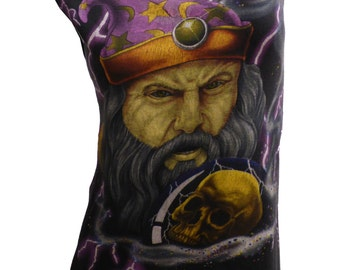 Astonishing Vintage WIZARD Reshaped T-Shirt / Tunic sz. M
