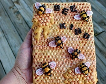 Bee Polymer Clay Painting