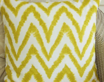 Decorative Citrus Throw Pillow Cushion Covers ALL SIZES Citrus /Green White Chevron Home Decor Throw Pillow Accent Cushion Couch Bedding