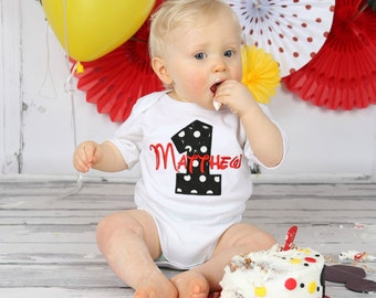 first birthday outfit boy Personalized Baby Boys First Birthday Outfit Cake Smash Outfit Baby Boys 1st Birthday Outfit Birthday Boy Outfit