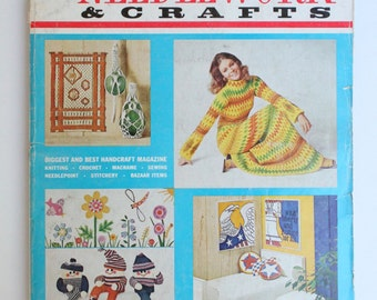 Vintage McCall's Needlework and Crafts Fall-Winter 1971-72 Magazine