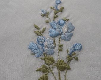 Floral Embroidered Doily