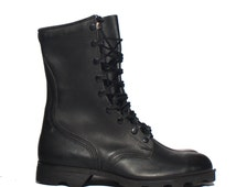 8 W | 1989 Standard Issue Military Boots Black Combat Boots