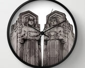 The Guardians Wall Clock - Cleveland Guardians of Traffic