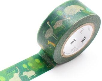 MT Safari Park Washi Masking Tape (10M) MTEX1P115