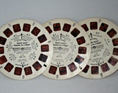 """Happy Days View Master Reels """"Requiem for a Malph"""" 1978 Set of 3 Reels 70s Television Collectible Featuring Fonzie, Richie, Ralph the Malph"""