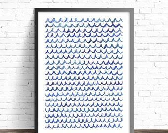 Minimalist Art Print. Abstract Painting Print. Minimalist painting print. Modern art print. Minimalist print. Modern abstract art
