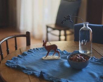 Linen Placemat, Blue, Homeware, Table Linen, Kitchen Linen