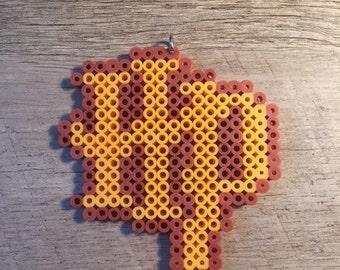 Harry Potter Symbol Fuser Perler Beads Keychain Lanyard Ornament Magnet