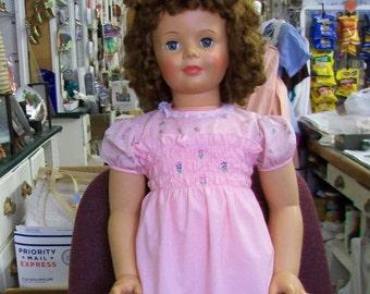 "Patty Playpal35"" IDEAL Doll Blue GreenEyed Open & Shut"
