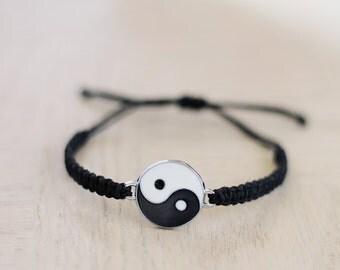 Yin-Yang Bracelet - Hemp Bracelet - Hemp Jewelry