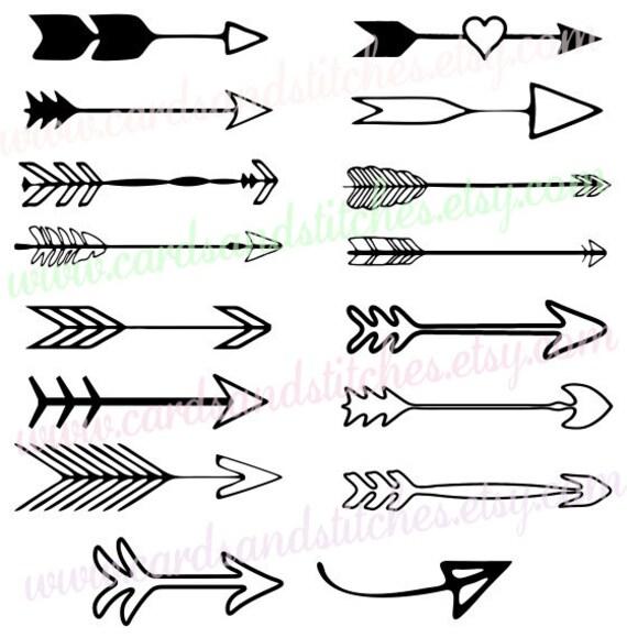 Edit A Line Or Arrow Line Arrow Wordart Picture Clip: Arrows SVG Decorative Arrows SVG Arrows Digital Cutting