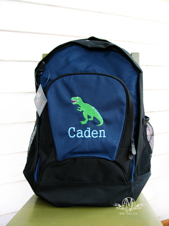 Personalized Dinosaur Backpack Boys