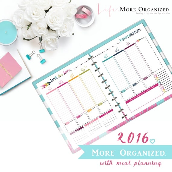 Organized Calendar Planner : Items similar to more organized month daily