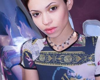 Givenchy Aurora Black Pearl Choker X Givenchy Jewelry