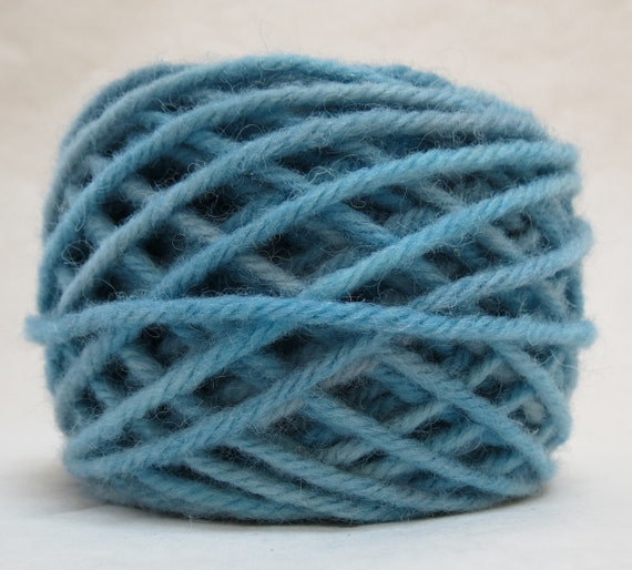 SKY, 100% Wool, 2 Ozs. 43 yards, 4-Ply, Bulky weight or 3-ply Worsted weight, already wound into cakes, ready to use. Made to order