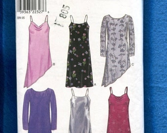 New Look 6815 Shift Dress with Over Dress Size 6 to 16