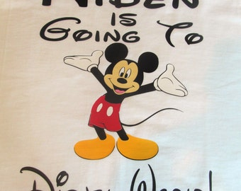 Mickey Mouse Going to Disney Shirt My First Disney Trip Shirt Disney Shirt Mickey Shirt Disney World Disneyland