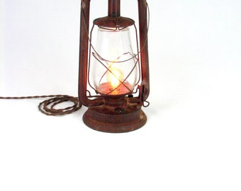 Electrified Lantern - Lamp - Lighting - Light
