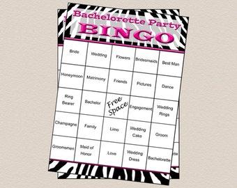 how to play bachelorette bingo