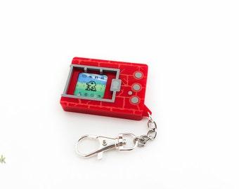 Digimon Virtual Pet Lasercut Keychain - Version 1