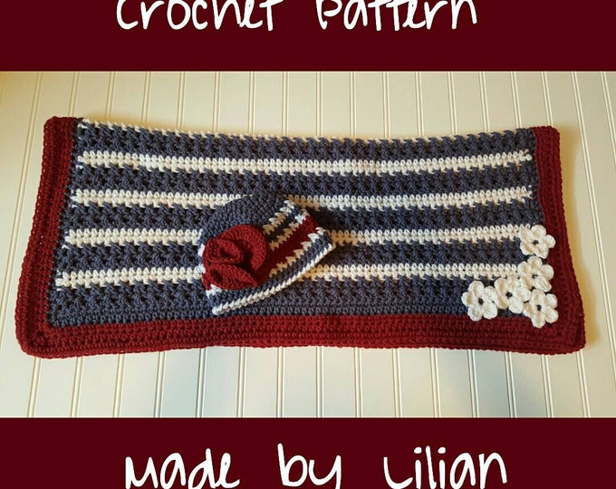 50 Off Coupon On Crochet Pattern American Flag 4th Of July