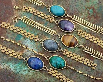 ATHENA - Grecian Bracelet In Brass