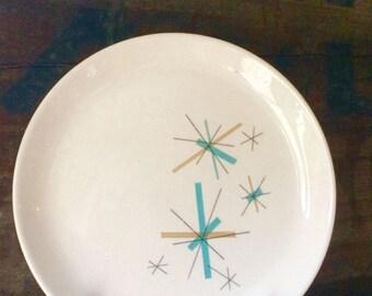 North Star Dinner Plate , Salem China, ca. 1960s