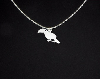 Toucan Necklace - Toucan Jewelry - Toucan Gift