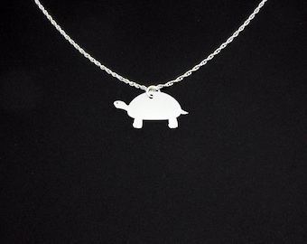 Turtle Necklace - Turtle Jewelry - Turtle Gift