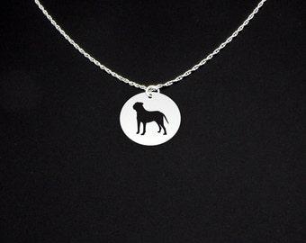 Bullmastiff Necklace - Bullmastiff Jewelry - Bullmastiff Gift