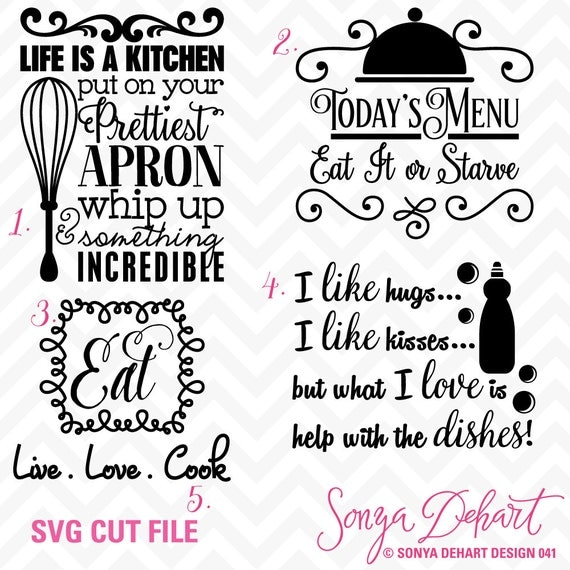80 off sale svg cuttables kitchen quotes cut files set dxf for Bathroom quotes svg